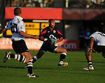Jordan Turner-hall on the attack. England V Fiji Junior Rugby World Cup 2008 © Ian Cook IJC Photography iancook@ijcphotography.co.uk www.ijcphotography.co.uk..