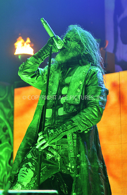 WWW.ACEPIXS.COM . . . . .  ..... . . . . US SALES ONLY . . . . .....February 16 2011, London....Rob Zombie live at the Brixton Academy on February 16 2011 in London ....Please byline: FAMOUS-ACE PICTURES... . . . .  ....Ace Pictures, Inc:  ..Tel: (212) 243-8787..e-mail: info@acepixs.com..web: http://www.acepixs.com