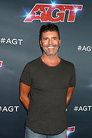 """LOS ANGELES - AUG 20:  Simon Cowell at the """"America's Got Talent"""" Season 14 Live Show Red Carpet at the Dolby Theater on August 20, 2019 in Los Angeles, CA"""