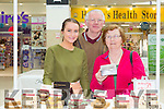 Denis and Patricia Hartnett from Manor Tralee enjoying Fab Fudge with Katie Daly at the Taste of Tralee Food Fair Manor West Retail Park on Saturday
