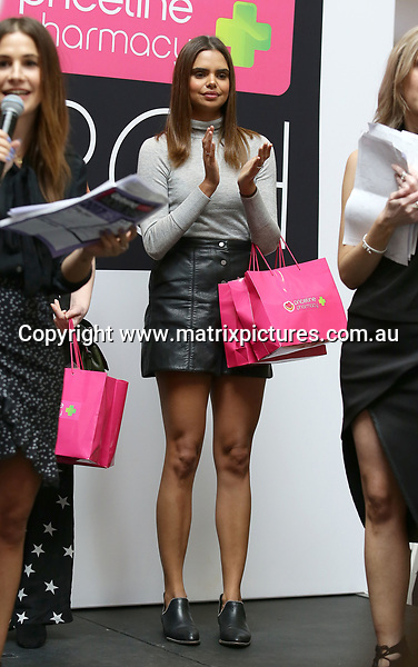 15 JULY 2017 BRISBANE AUSTRALIA<br /> WWW.MATRIXPICTURES.COM.AU<br /> <br /> EXCLUSIVE PICTURES<br /> <br /> Australian model Samantha Harris pictured guest judging the Queensland auditions for the 2017 Girlfriend Priceline pharmacy model search in Brisbane. Over 500 contestants took part.<br /> <br /> Note: All editorial images subject to the following: For editorial use only. Additional clearance required for commercial, wireless, internet or promotional use.Images may not be altered or modified. Matrix Media Group makes no representations or warranties regarding names, trademarks or logos appearing in the images.