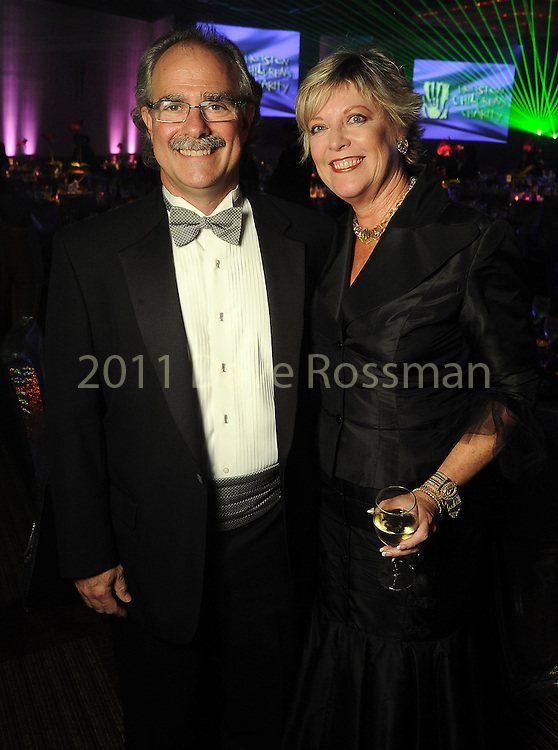 Terri and Andy DiRaddo at the Houston Children's Charity's 14th Annual Gala at the Hyatt Regency Saturday Oct. 23, 2010. (Dave Rossman/For the Chronicle)