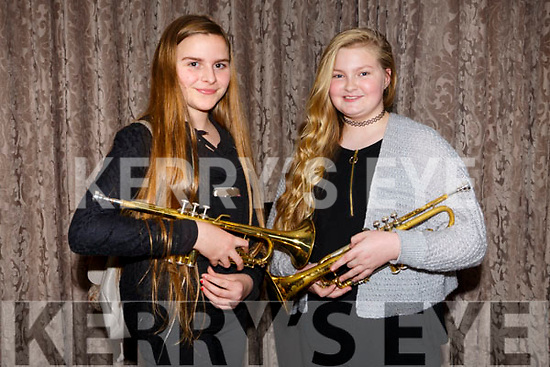 At the Kerry School of Music Concert in the rose Hotel on Sunday were laurel lenane and Amy Darcy