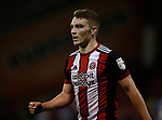 Caolan Lavery of Sheffield Utd celebrates his goal during the Carabao Cup, second round match at Bramall Lane, Sheffield. Picture date 22nd August 2017. Picture credit should read: Simon Bellis/Sportimage