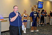 12 August 2011:  FIU's Roman Garcia hosts the FIU 2011 Panther Preview at University Park Stadium in Miami, Florida.