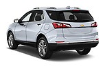Car pictures of rear three quarter view of a 2019 Chevrolet Equinox Premier 5 Door SUV angular rear