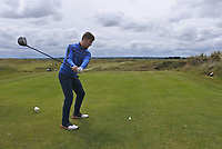 Robbie Pierse (Grange) on the 14th tee during Round 4 of the East of Ireland Amateur Open Championship at Co. Louth Golf Club in Baltray on Monday 5th June 2017.<br /> Photo: Golffile / Thos Caffrey.<br /> <br /> All photo usage must carry mandatory copyright credit     (&copy; Golffile | Thos Caffrey)