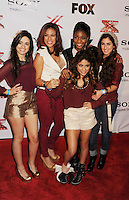 LOS ANGELES, CA - DECEMBER 06: Fifth Harmony arrives at the 'The X Factor' Viewing Party Sponsored By Sony X Headphones at Mixology101 & Planet Dailies on December 6, 2012 in Los Angeles, California.PAP1212JP346.PAP1212JP346.PAP1212JP346.