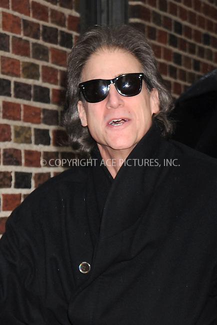 WWW.ACEPIXS.COM . . . . .....April 28, 2008. New York City.....Actor Richard Lewis arrives at the 'Late Show with David Letterman' at the Ed Sullivan Theater...  ....Please byline: Kristin Callahan - ACEPIXS.COM..... *** ***..Ace Pictures, Inc:  ..Philip Vaughan (646) 769 0430..e-mail: info@acepixs.com..web: http://www.acepixs.com