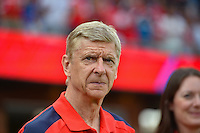 San Jose, CA - Thursday July 28, 2016: Arsene Wenger during a Major League Soccer All-Star Game match between MLS All-Stars and Arsenal FC at Avaya Stadium.