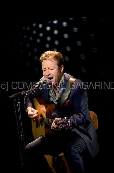 "Belgian singer Marka playing his show ""Marka Se Reprend"" in Brussels (Belgium, 06/12/2013)"