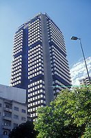 Modern high rise office tower BBVA Provincial building in Caracas, Venezuela