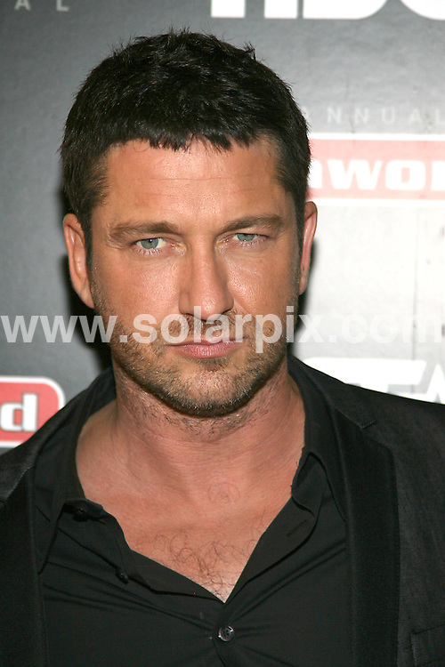 "**ALL ROUND PICTURES FROM SOLARPIX.COM**.**SYNDICATION RIGHTS FOR UK, AUSTRALIA, DENMARK, PORTUGAL, S. AFRICA, SPAIN & DUBAI (U.A.E) ONLY**.Gerard Butler arrives for the New York premiere of ""Law Abiding Citizen"". Held at AMC Loews West 34th Street Theater, 312 West 34th Street, New York City, NY, USA. 23 September 2009..This pic: Gerard Butler..JOB REF: 10014 PHZ (Gaboury)  DATE: 23_09_2009.**MUST CREDIT SOLARPIX.COM OR DOUBLE FEE WILL BE CHARGED**.**MUST NOTIFY SOLARPIX OF ONLINE USAGE**.**CALL US ON: +34 952 811 768 or LOW RATE FROM UK 0844 617 7637**"