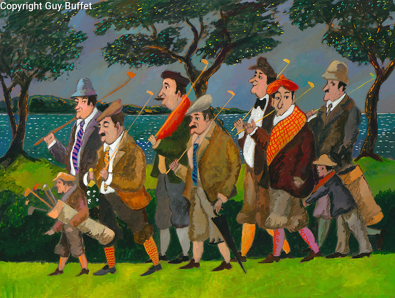 &quot;Jean Pierre &amp; His Gang at Pebble Beach&quot;<br />