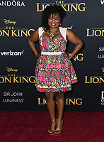 """09 July 2019 - Hollywood, California - Niketa Calame-Harris. Disney's """"The Lion King"""" Los Angeles Premiere held at Dolby Theatre. <br /> CAP/ADM/BT<br /> ©BT/ADM/Capital Pictures"""