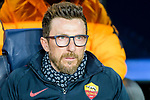 Coach Eusebio Di Francesco of AS Roma reacts prior to the UEFA Champions League 2017-18 quarter-finals (1st leg) match between FC Barcelona and AS Roma at Camp Nou on 05 April 2018 in Barcelona, Spain. Photo by Vicens Gimenez / Power Sport Images