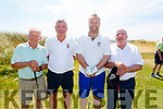 Killarney Golf Club at the Ballybunion Golf clubs Cashen Course at the JB O'Shea Golf Tournament on Saturday, l to r: Mike Leahy, Liam Hartnett, Teddy O'Connor and Brian Clarke.