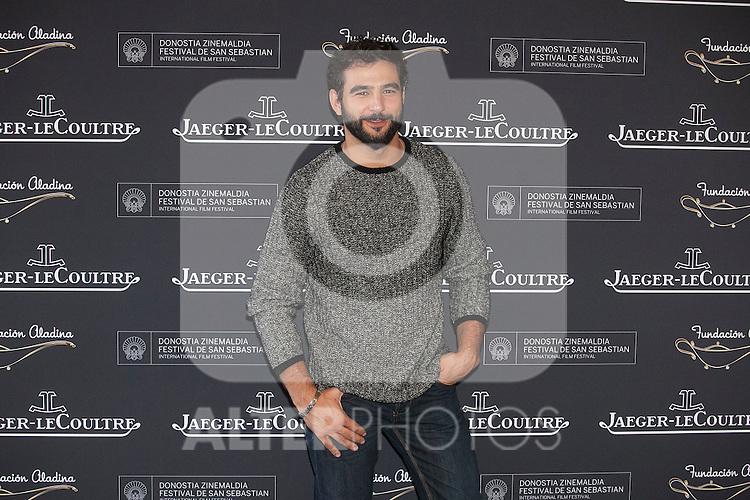 Actor Antonio Velazquez poses during Aladina Foundation presentation at 63rd Donostia Zinemaldia (San Sebastian International Film Festival) in San Sebastian, Spain. September 18, 2015. (ALTERPHOTOS/Victor Blanco)
