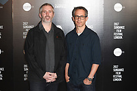 Cary Murnion and Jonathan Millot<br /> at the Sundance Film Festival:London opening photocall, Picturehouse Central, London.<br /> <br /> <br /> ©Ash Knotek  D3270  01/06/2017