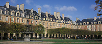 Europe/France/Ile-de-France/Paris : Place des Vosges