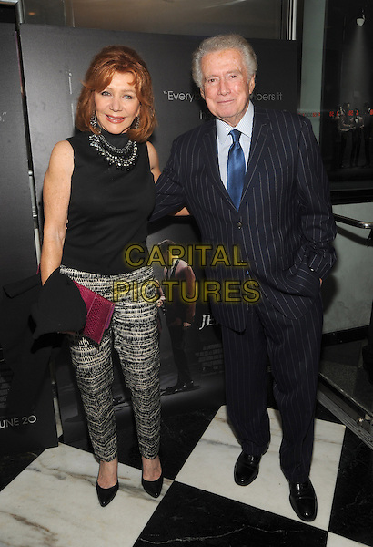 New York, NY- June 9: Joy Philbin and Regis Philbin attends the 'Jersey Boys' Special Screening at the Paris Theater on June 9, 2014 in New York City.  <br /> CAP/RTNSTV<br /> &copy;RTNSTV/MPI/Capital Pictures