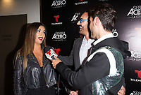 DORAL, FL - NOVEMBER 6: Gaby Espino, Miguel Varoni on the red carpet for Telemundo's season premiereofSenora Acero,La Coyote in CineBistro at City Place Doral, Florida. November 6, 2017. Credit: mpi140 / MediaPunch /NortePhoto.com