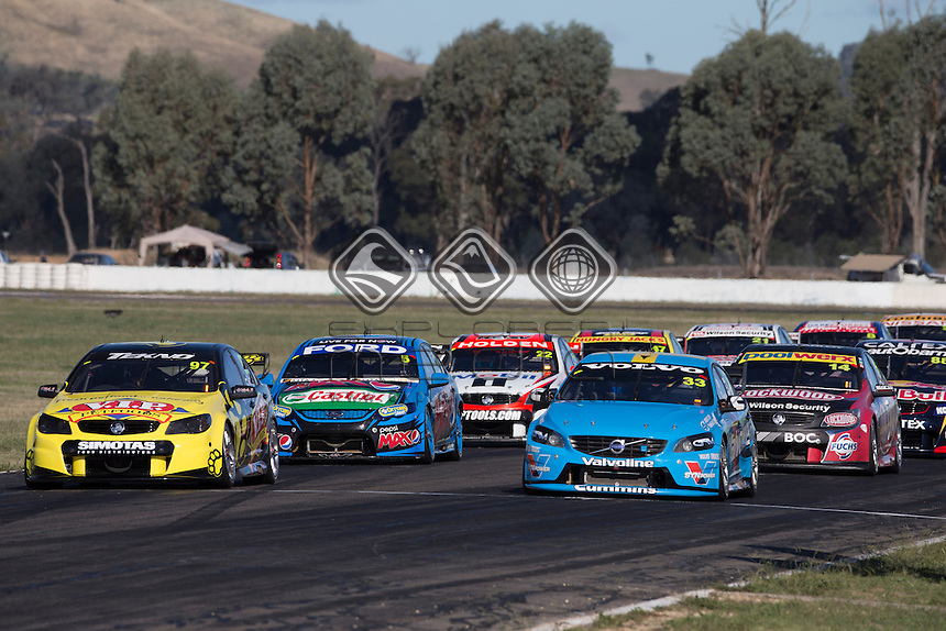 during the Winton 400, Event 03 of the 2014 Australian V8 Supercars Championship Series at the Winton Motor Raceway, Winton, Victoria, April 06, 2014.<br /> &copy; Sport the library / Mark Horsburgh