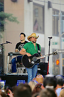 WWW.ACEPIXS.COM<br /> <br /> August 25, 2017 New York City<br /> <br /> Jason Aldean performs at the 'Today Show' on August 25, 2017 in New York City.<br /> <br /> <br /> Please byline: Curtis Means/ACE Pictures<br /> <br /> ACE Pictures, Inc.<br /> www.acepixs.com, Email: info@acepixs.com<br /> Tel: 646 769 0430