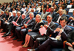 Advisor to Palestinian Prime Minister, Khairia Rasas attends Palestine international water forum, in the West Bank city of Ramallah on June 25, 2018. Photo by Prime Minister Office