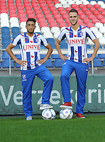 VOETBAL: HEERENVEEN: Abe Lenstra Stadion 30-06-2015, SC Heerenveen, nieuwe spelers Caner Cavlan en Branco van den Boomen, ©foto Martin de Jong