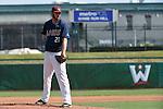 May 22, 2015; Stockton, CA, USA; Loyola Marymount Lions pitcher Trevor Megill (21) during the WCC Baseball Championship at Banner Island Ballpark.