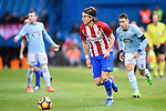 Filipe Luis of Atletico de Madrid in action during their La Liga match between Atletico de Madrid and RC Celta de Vigo at the Vicente Calderón Stadium on 12 February 2017 in Madrid, Spain. Photo by Diego Gonzalez Souto / Power Sport Images