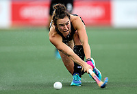Kelsey Smith during the World Hockey League match between New Zealand and Korea. North Harbour Hockey Stadium, Auckland, New Zealand. Saturday 18 November 2017. Photo:Simon Watts / www.bwmedia.co.nz