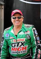 Nov. 2, 2008; Las Vegas, NV, USA: NHRA funny car driver John Force during the Las Vegas Nationals at The Strip in Las Vegas. Mandatory Credit: Mark J. Rebilas-