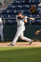 Wilfredo Rodriguez #3 of the Tri-City Dust Devils at bat during a game against the Everett AquaSox at Everett Memorial Stadium in Everett, Washington on June 19, 2013.  Everett defeated Tri-City 4-3.  (Ronnie Allen/Four Seam Images)