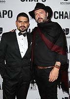 19 April 2017 - Los Angeles, California - Alejandro Aguilar and Rodrigo Abed. Univision's 'El Chapo' Original Series Premiere Event held at The Landmark Theatre. Photo Credit: AdMedia