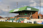 The Port of Blyth Stand at Croft Park. Blyth Spartans v Brackley Town, 30112019. Croft Park, National League North. Photo by Paul Thompson.