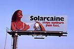 Soarcaine sunburn spray billboard in Los Angeles, CA