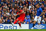 Sevilla's Gabriel Mercado (L) in action during the pre season friendly match at Goodison Park Stadium, Liverpool. Picture date 6th August 2017. Picture credit should read: Paul Thomas/Sportimage