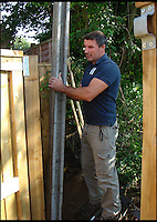 BNPS.co.uk (01202 558833)<br /> Pic: Mike Pearse/BNPS<br /> <br /> A parish council that blocked a couple's garden gate in a petty row have removed the barricade after a three year battle that has cost the taxpayer &pound;14,000.<br /> <br /> Village hall officials erected a 6ft tall fence across the garden entrance that Michael and Lesley Pearse had used for 19 years to access a public park 15ft away.<br /> <br /> The bureaucrats tried to argue an easement - right of passage - the Pearses had enjoyed was a gift by them which they could withdraw.<br /> <br /> The furious couple insisted the right of way was written into their deeds and asked Queen Thorne Parish Council in Dorset to remove their fence.<br /> <br /> The officials refused, resulting in a legal dispute that lasted for nearly three years until the case was settled in favour of the Pearses on the eve of the matter going to court.