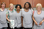 Geraldine Reilly, Alice McGrath, Beverly Rothwell, Nomusa Sibanda and Marie Wall at the Senior Citizens Summer Party...Photo NEWSFILE/Jenny Matthews.(Photo credit should read Jenny Matthews/NEWSFILE)....This Picture has been sent you under the condtions enclosed by:.Newsfile Ltd..The Studio,.Millmount Abbey,.Drogheda,.Co Meath..Ireland..Tel: +353(0)41-9871240.Fax: +353(0)41-9871260.GSM: +353(0)86-2500958.email: pictures@newsfile.ie.www.newsfile.ie.FTP: 193.120.102.198.