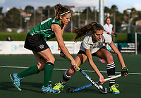 Action during the Auckland Intercity Women's final hockey match between Takapuna and Somerville, North Harbour Hockey, Auckland, New Zealand. Saturday 19 August 2017. Photo:Simon Watts / www.bwmedia.co.nz