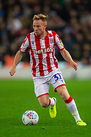 4th November 2019; Bet365 Stadium, Stoke, Staffordshire, England; English Championship Football, Stoke City versus West Bromwich Albion; Mark Duffy of Stoke City - Strictly Editorial Use Only. No use with unauthorized audio, video, data, fixture lists, club/league logos or 'live' services. Online in-match use limited to 120 images, no video emulation. No use in betting, games or single club/league/player publications