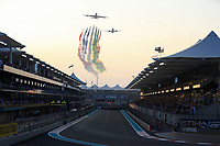 1st December 2019; Yas Marina Circuit, Abu Dhabi, United Arab Emirates; Formula 1 Abu Dhabi Grand Prix, race day; Fly over from Al Fursan - Editorial Use
