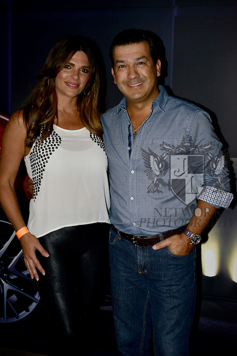 MIAMI, FL - OCTOBER 24: Barbara Bermudo and Mario Andres Moreno is seen arriving to the Ricky Martin concert at American Airlines Arena on Saturday October 24, 2015 in Miami, Florida.  ( Photo by Johnny Louis / jlnphotography.com )