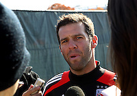 DC United Practice Session, November 14, 2012