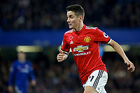 Ander Herrera of Manchester United during Chelsea vs Manchester United, Premier League Football at Stamford Bridge on 5th November 2017