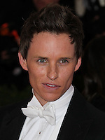 "NEW YORK CITY, NY, USA - MAY 05: Eddie Redmayne at the ""Charles James: Beyond Fashion"" Costume Institute Gala held at the Metropolitan Museum of Art on May 5, 2014 in New York City, New York, United States. (Photo by Xavier Collin/Celebrity Monitor)"