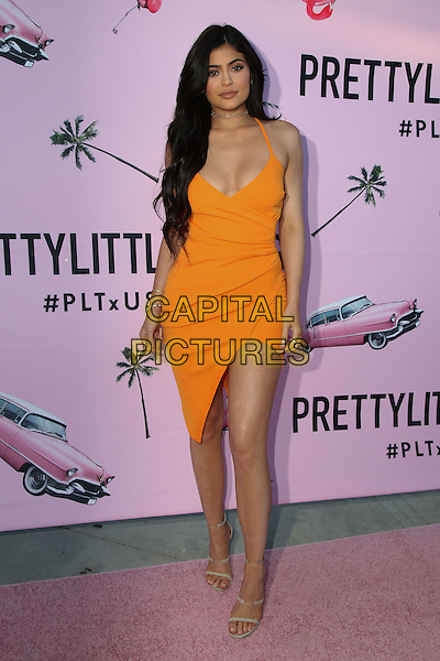BEVERLY HILLS, CA - JULY 7: Kylie Jenner at the PrettyLittleThing.com Pretty Little Thing's #PLTxUSA Launch US Launch Party at a Private Location in Beverly Hills, California on July 7, 2016. <br /> CAP/MPI/DE<br /> &copy;DE/MPI/Capital Pictures