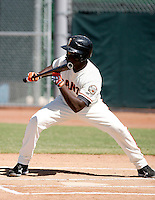 Wendell Fairley -San Francisco Giants 2009 Instructional League. .Photo by:  Bill Mitchell/Four Seam Images..